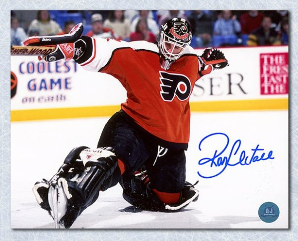 2b69cb20d Ron Hextall Philadelphia Flyers Autographed Signed Kick Save Autographed  Signed 16x20 Photo - Certified Authentic