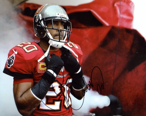 5d2017cdd Ronde Barber Tampa Bay Buccaneers Autographed Signed 8x10 Photo - Certified  Authentic