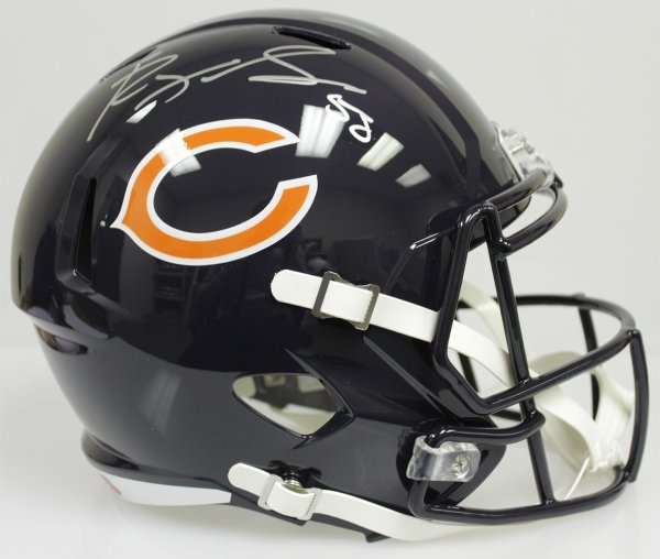 c3d8b587c33 Roquan Smith Autographed Signed Chicago Bears Riddell Full Size Speed  Replica Helmet - Beckett Authentic