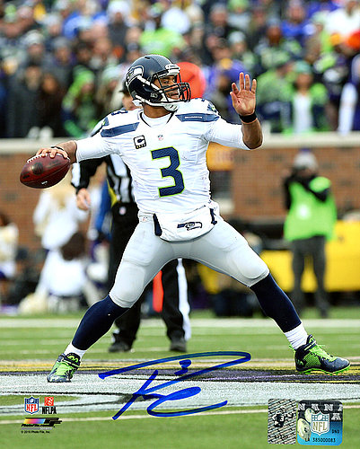 7dc401d66 Russell Wilson Autographed Signed Memorabilia 8x10 Photo Seattle Seahawks  Rw Holo Stock #147572 - Certified