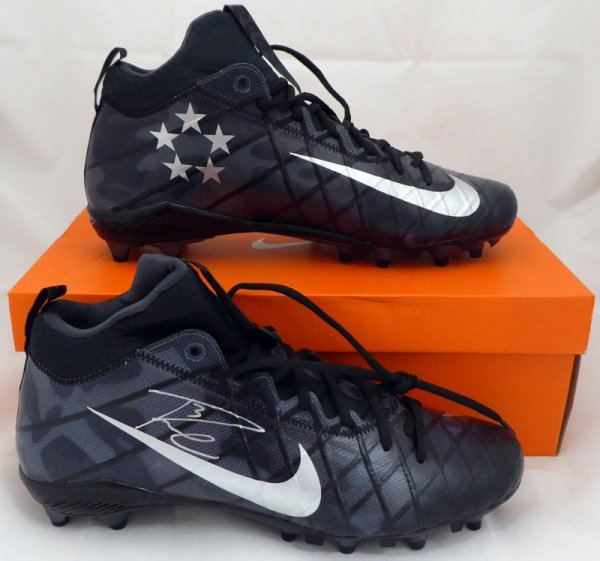Russell Wilson Autographed Signed Nike Cleats Shoes Seattle Seahawks Rw Holo #36181