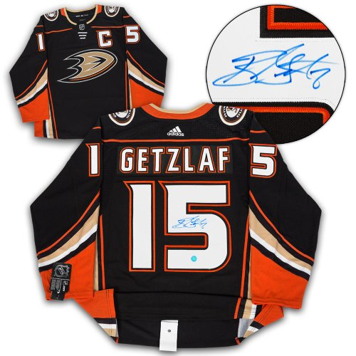 daa9c1839 Ryan Getzlaf Anaheim Ducks Autographed Signed Adidas Authentic Hockey Jersey