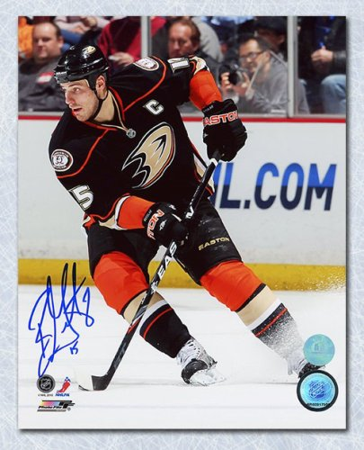 4822dcf2c Ryan Getzlaf Anaheim Ducks Autographed Signed Game Action 8x10 Photo -  Certified Authentic