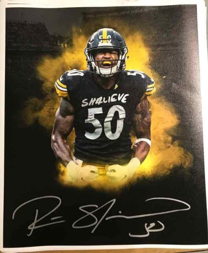 check out 3f052 7a105 Ryan Shazier Autographed Memorabilia | Signed Photo, Jersey ...