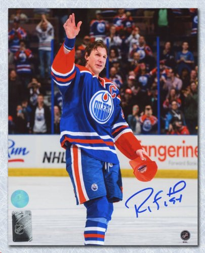 58f0965d1 Ryan Smyth Edmonton Oilers Autographed Signed Final Game Wave 8x10 Photo -  Certified Authentic