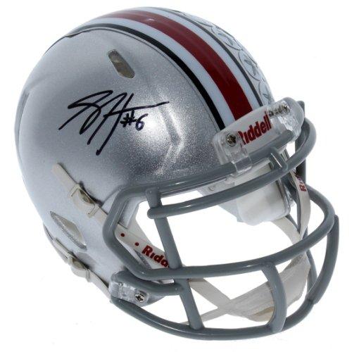 Sam Hubbard Ohio State Buckeyes Autographed Signed Riddell Speed Mini Helmet - PSA/DNA Authentic