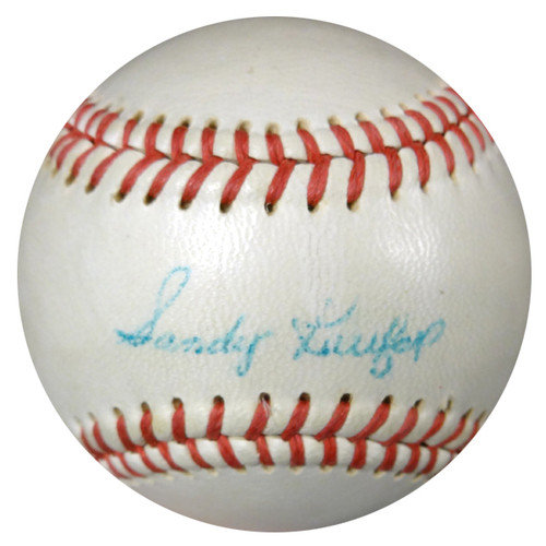 b9f8c0cf1 Sandy Koufax and Don Drysdale Autographed Signed Baseball Los Angeles  Dodgers Vintage Playing Days Signature - PSA DNA Certified