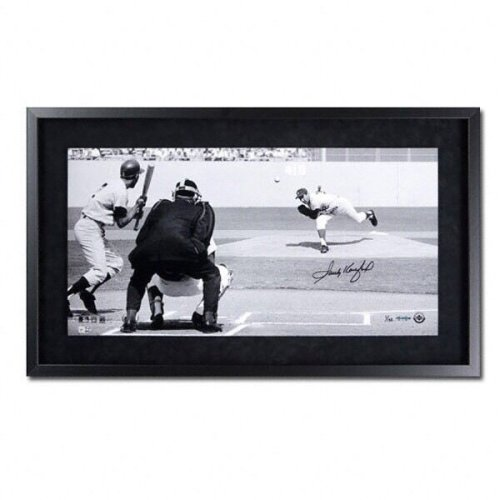 Sandy Koufax Autographed Signed La Dodgers Framed Panoramic Photo Le132 UDA