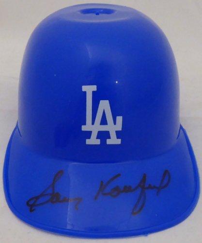 Sandy Koufax Autographed Signed Micro Mini Helmet Los Angeles Dodgers PSA/DNA #F68844