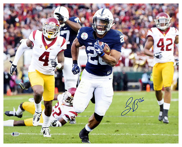 save off 4e85b a5cdc Saquon Barkley - Sports Memorabilia & Autographed Sports ...