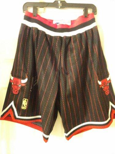 Scottie Pippen Autographed Signed 96-97 Chicago Bulls Game Model Shorts UDA Last Dance Mj