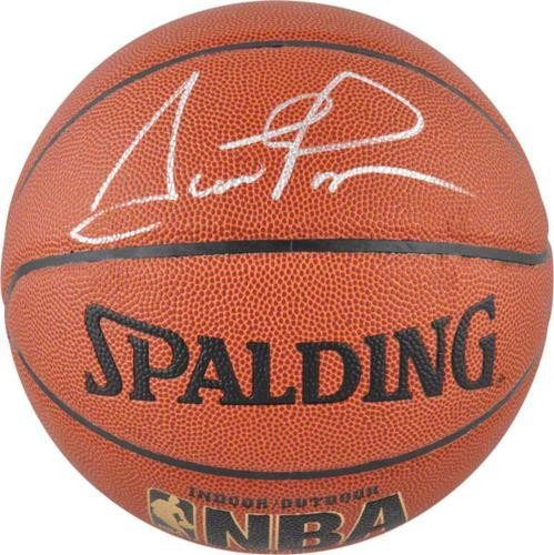 Scottie Pippen Autographed Signed (Chicago Bulls) NBA I/O Basketball - JSA