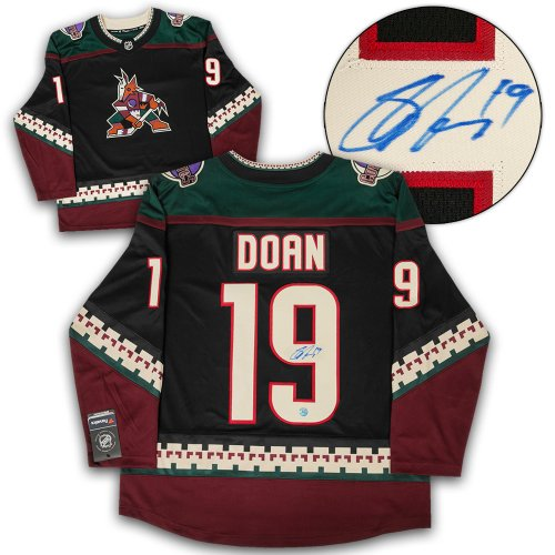 wholesale dealer 0b6f4 64ce0 Shane Doan Arizona Coyotes Autographed Signed Retro ...