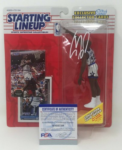 Shaquille O'neal Autographed Signed 1993 Rookie Starting Lineup Figure Magic Lakers Shaq PSA