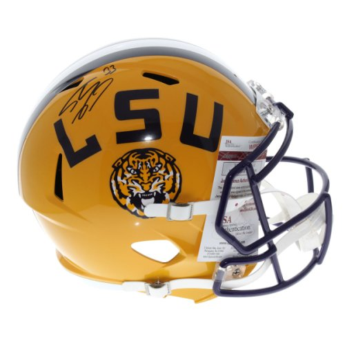 9ce917cdd04 Shaquille O'Neal LSU Tigers Autographed Signed Riddell Full Size Speed  Replica Football Helmet -