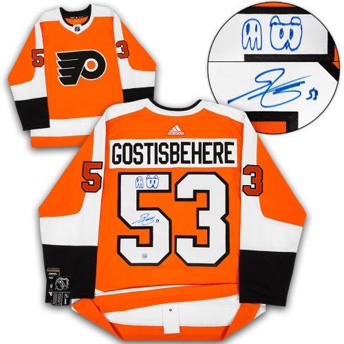 buy popular 61a60 da54e Shayne Gostisbehere Philadelphia Flyers Autographed Signed ...