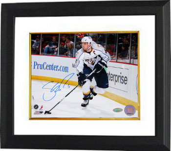 Shea Weber Autographed Signed Nashville Predators 8X10 Photo Custom Deluxe Framed - Certified Authentic