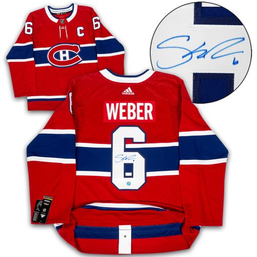 Shea Weber Montreal Canadiens Autographed Signed Adidas Authentic Hockey Jersey