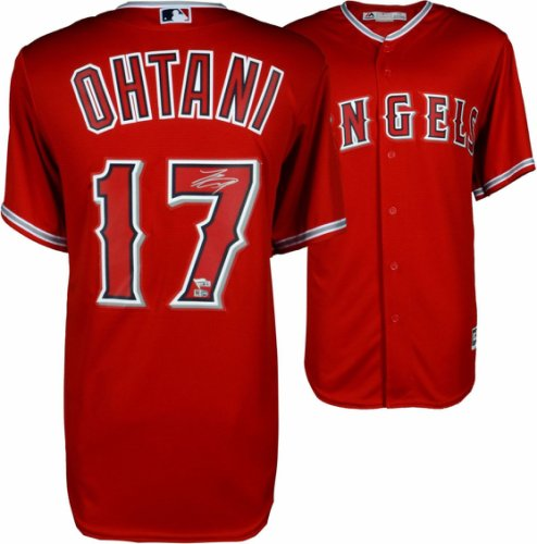 Shohei Ohtani Los Angeles Angels Autographed Signed Majestic Replica Jersey   Steiner - Certified Authentic 89500e8cc