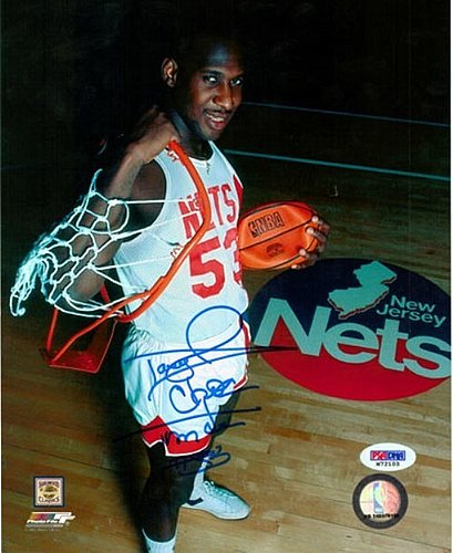 Signed Darryl Dawkins Autographed 8x10 P O Philadelphia 76ers Chocolate Thunder Psa Dna Certified