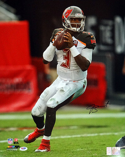 Signed Jameis Winston Autographed 16x20 Photo Tampa Bay Buccaneers - PSA/DNA Certified