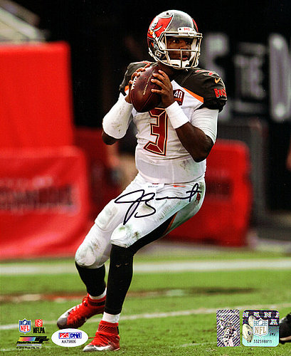 Signed Jameis Winston Autographed 8x10 Photo Tampa Bay Buccaneers - PSA/DNA Certified