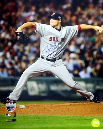 best website 70d21 862d9 Jon Lester Autographed Memorabilia | Signed Photo, Jersey ...