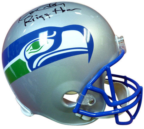 huge discount a4b29 27a23 Signed Kenny Easley Autographed Seattle Seahawks Riddell ...