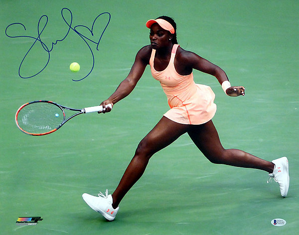 Sloane Stephens Autographed Signed 16x20 Photo - Beckett Authentic