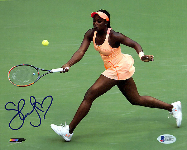 Sloane Stephens Autographed Signed 8x10 Photo - Beckett Authentic