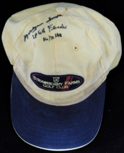 Smith Autographed Signed Marilynn Lpga HOF Strawberry Farms Hat JSA Authenticated