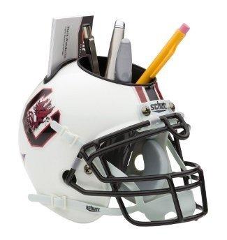 South Carolina Gamecocks NCAA Football Schutt Mini Helmet Desk Caddy