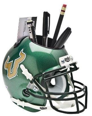 Schutt NCAA South Florida Bulls Football Helmet Desk Caddy
