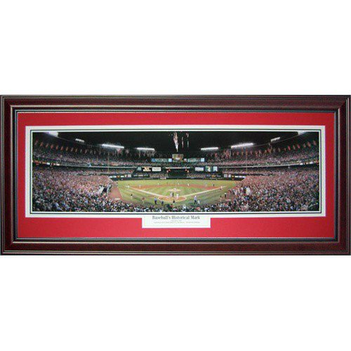 St. Louis Cardinals (Baseball?s Historical Mark) Deluxe Framed Panoramic Photo