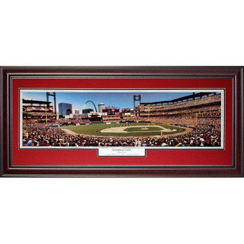 St. Louis Cardinals (Inaugural Game) Deluxe Framed Panoramic Photo