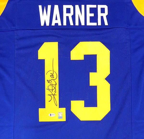 0e054cd5 Kurt Warner Autographed Memorabilia | Signed Photo, Jersey ...