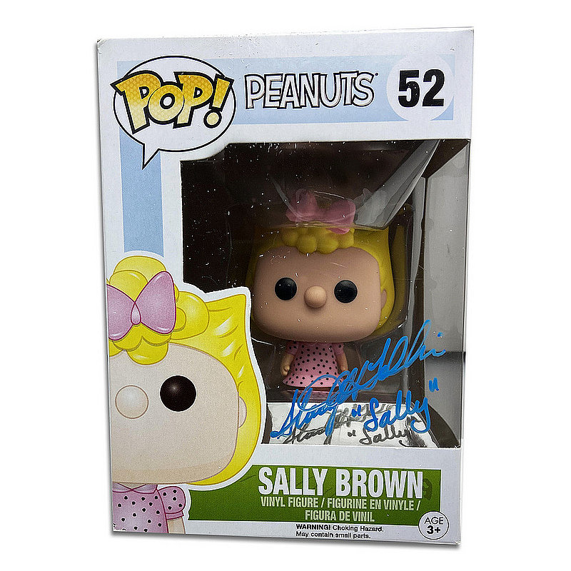 Stacy Heather Tolkin Autographed Signed Pop! Peanuts #52 Sally Brown - Certified Authentic