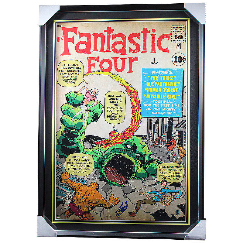 Stan Lee Autographed Signed Fantastic Four Framed Photo - Certified Authentic