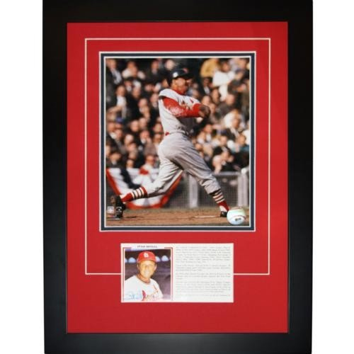 Stan Musial Autographed Signed St. Louis Cardinals Signature Series Frame
