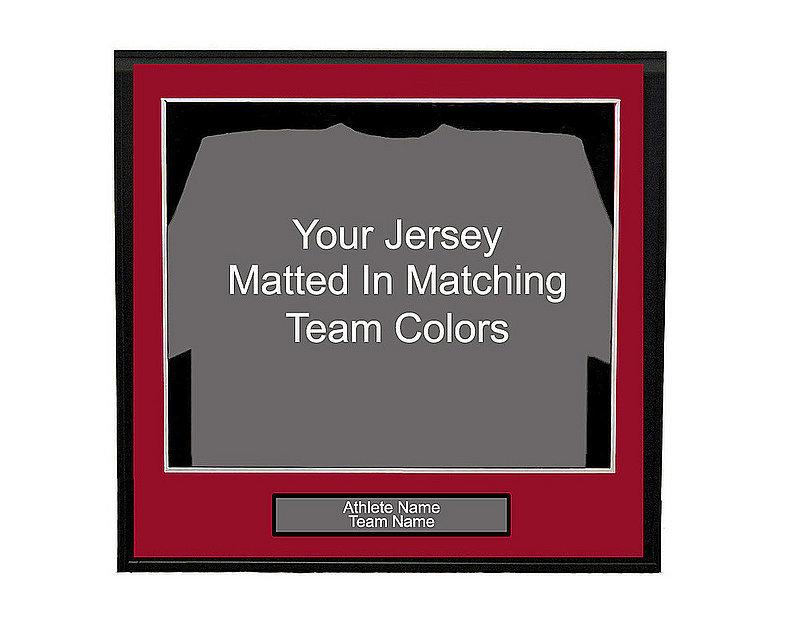 Standard Jersey Framing Option
