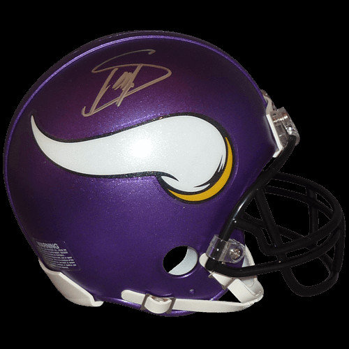 363a93ad223 Stefon Diggs Autographed Signed Auto Minnesota Vikings Mini Helmet -  Certified Authentic