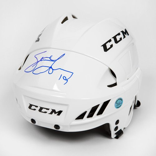 Steve Yzerman Autographed Signed White Ccm Detroit Red Wings Hockey Helmet