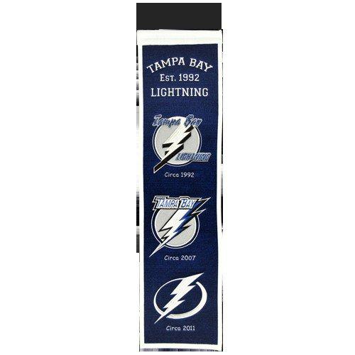 Tampa Bay Lightning Logo Evolution Heritage Banner