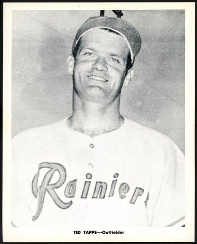 Ted Tappe 1956-59 Seattle Rainiers Popcorn 8x10 Premium Card