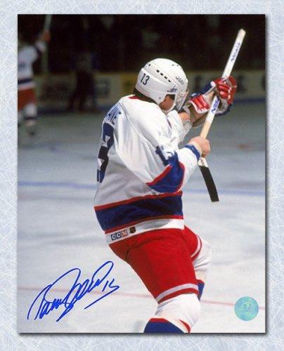 pretty nice b621b b33a9 Teemu Selanne Winnipeg Jets Autographed Signed Rookie Record ...