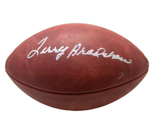 Terry Bradshaw Signed Autographed Wilson Official NFL Leather Football - JSA Authentic