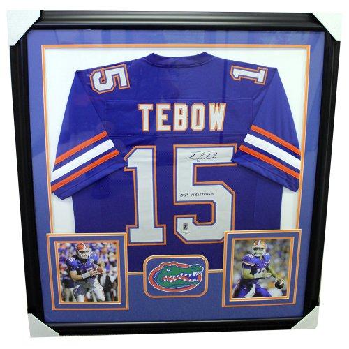 wholesale dealer 34482 7ae7c Tim Tebow   Autographed Football Memorabilia & NCAA Merchandise