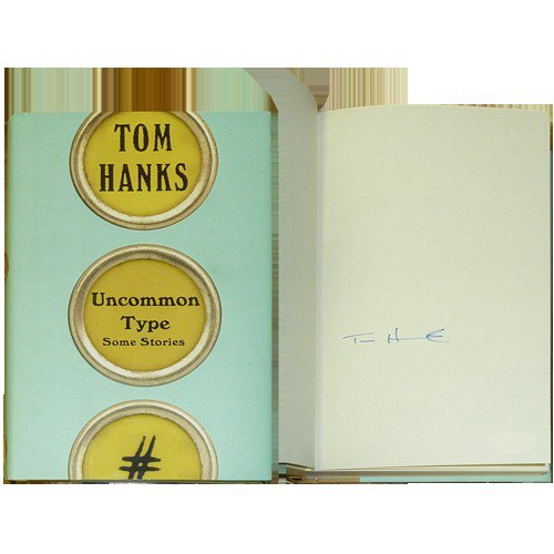 Tom Hanks Autographed Signed Uncommon Type Book - JSA