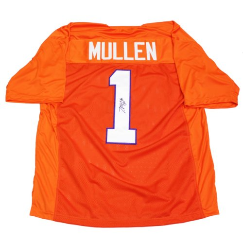 Trayvon Mullen Autographed Signed Clemson Tigers Orange #1 Custom Jersey - Certified Authentic