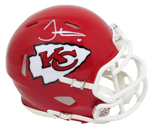 Tyreek Hill Autographed Signed Kansas  City Chiefs Riddell Speed Mini Helmet